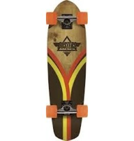 "Dusters DUSTERS FLASHBACK CRUISER COMPLETE-28"" BRN/ORG"