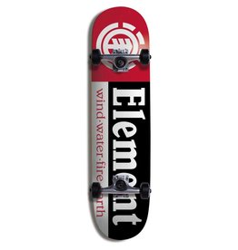 ELEMENT Skate ELEMENT SECTION COMPLETE- 7.5 BLK THRIFTWOOD PPP