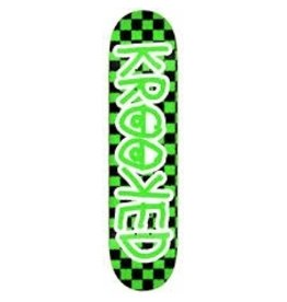 KROOKED KROOKED CHECKED OUT NEON DECK