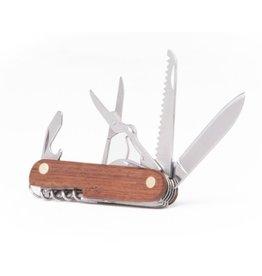 PROOF WALNUT MULTI BLADE POCKET KNIFE