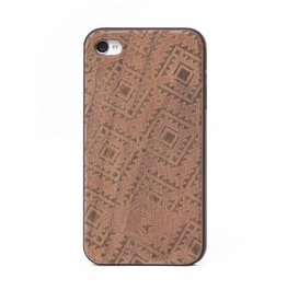 PROOF WALNUT AND RUBBER IPHONE 4 CASE