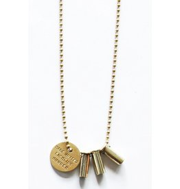 HALF UNITED HALF UNITED THE KENNY NECKLACE