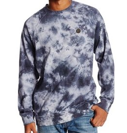 VOLCOM WASHED PULLI CREW - GRAPHITE