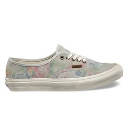 VANS AUTHENTIC SLIM (SUEDE FLORAL) MARSHMALLOW