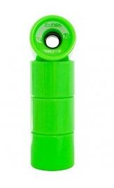 Z-flex longboard wheels green