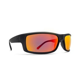 Dot Dash Gooch Sunglasses (Charcoal Satin/Red Chrome)