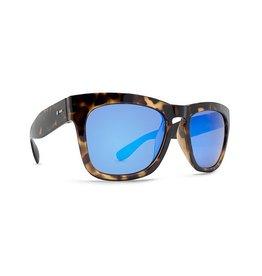 Dot Dash Skadoosh Sunglasses (Tortoise/Ice Blue Chrome)