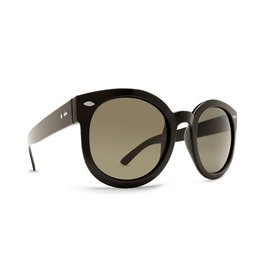 Women's Dot Dash Pool Party Sunglasses (Black/Grey)
