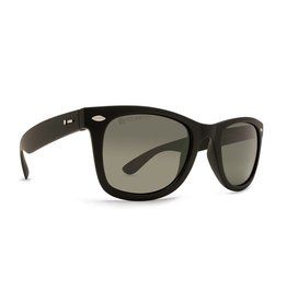 Dot Dash Plimsoul Polarized Sunglasses (Black Satin/Grey Polarized)