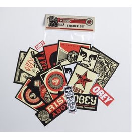 OBEY Obey Clothing Assorted Sticker Pack