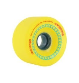 ORANGATANG ORANGATANG 72.5MM, 86A MORONGA YELLOW WHEEL (SET OF 4)
