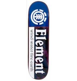 """Element Black Foil Section Skateboard Deck - 8.3"""" THRIFTWOOD"""