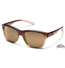 SunCloud Suncloud Pageant Polarized Sunglasses (Brown Fade/Sienna Mirror)