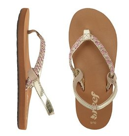 REEF Kid's Reef Little Twisted Stars Sandal