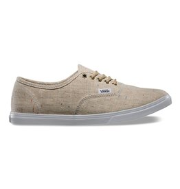 VANS Women's Vans Speckle Linen Authentic Lo Pro
