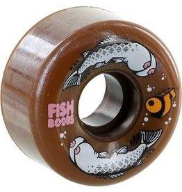 EASTERN SKATE OJ III Jeremy Fish LTD Skateboard Wheels - 56mm 87a Brown