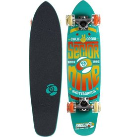 SECTOR 9 SECTOR NINE WEDGE GLO-WHEEL COMPLETE BOARD