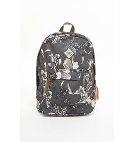 OBEY OBEY DARK ORCHID BACKPACK - BLACK MULTI