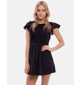 RHYTHM RHYTHM JAGGER DRESS BLACK