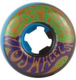 EASTERN SKATE OJ Figgy Psychedelic Freakout Wheels - 53mm 101a
