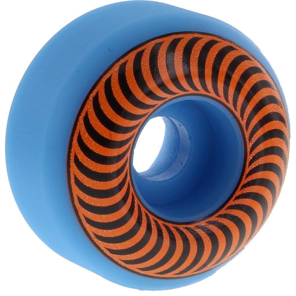 EASTERN SKATE Spitfire Classic Neon Wheels - 53mm, 99a, Blue/Orange