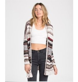 BILLABONG Billabong Outside the Lines Stripe Cardigan