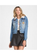 BILLABONG Billabong Patched Love Denim Jacket