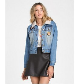 BILLABONG Billabong Patched Love Denim Jacket