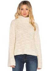 OBEY Obey Alexa Cropped Funnelneck Sweater