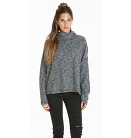 OBEY Obey Rhodes Funnel Neck Specialty Fleece