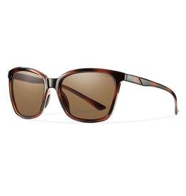 Smith SMITH Collete Tortoise Sunglasses with Polar Brown Lens