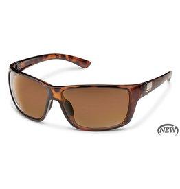 SunCloud SUNCLOUD COUNCILMAN Tortoise Frame Polarized Brown Lens