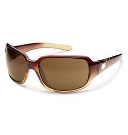 SunCloud SUNCLOUD COOKIE Brown Fade Laser Frame, Polarized Brown Lens