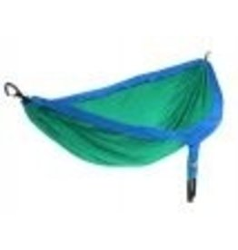 EAGLE NEST OUTFITTERS ENO DOUBLENEST HAMMOCK ROYAL/EMERALD