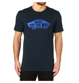 VANS MENS VANS OTW TEE NAVY/FRENCH BLUE