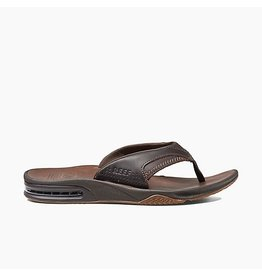 REEF REEF FANNING ULTIMATE DARK BROWN SANDALS