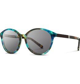 SHWOOD SHWOOD BAILEY BLUE OPAL SUNGLASSES