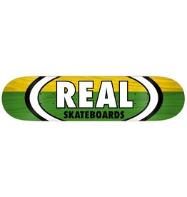 REAL REAL TWO-TONE OVAL LG DECK 8.25""