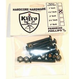 "EASTERN SKATE KHIRO PANHEAD HARDWARE 1 1/2"" PHILLIPS"
