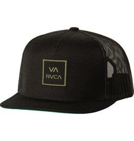 RVCA RVCA VA ALL THE WAY TRUCKER HAT III BLACK OLIVE