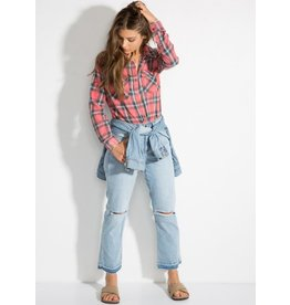 BILLABONG BILLABONG WOMENS FLANNEL FRENZY SHIRT