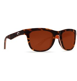 Costa Del Mar COSTA COPRA SHINY RETRO TORTOISE/CREAM/SALMON COPPER 580P