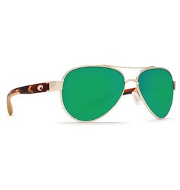 Costa Del Mar COSTA LORETO ROSE GOLD GREEN MIRROR 580P