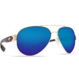 Costa Del Mar COSTA SOUTH POINT GOLD GREEN BLUE SUNGLASSES