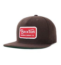 BRIXTON BRIXTON GRADE SNAPBACK DARK BROWN