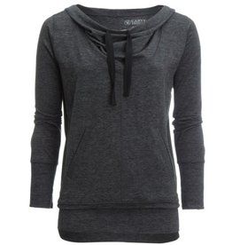 Carve TALORA HOODIE CHARCOAL HEATHER