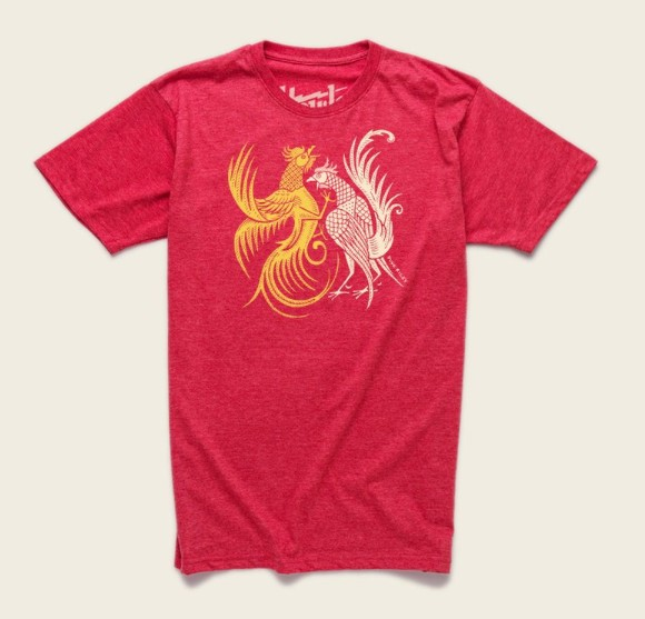 Howler Brothers FIGHTING COCKS T-SHIRT
