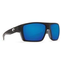 Costa Del Mar COSTA DEL MAR BLOKE MATTE BLACK / MATTE GREY BLUE MIRROR LENS 580P