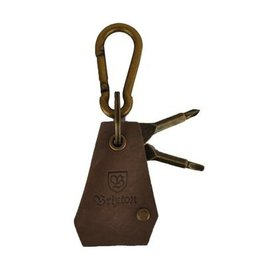 BRIXTON BRIXTON HAVEN KEY CHAIN - ANTIQUE BRONZE
