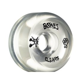 EASTERN SKATE BONES SPF CLEARS 60mm CLEAR